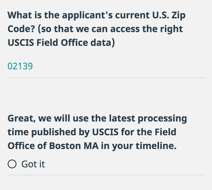 USCIS Processing Times for Form I-485